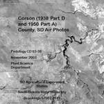 Corson County, SD Air Photos (1938 Part D and 1950 Part A)
