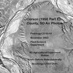 Corson County, SD Air Photos (1950 Part E)