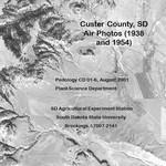 Custer County, SD Air Photos (1938 and 1954)