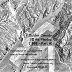 Custer County, SD Air Photos (1968 – Part A)
