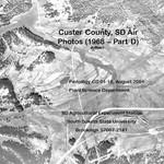 Custer County, SD Air Photos (1968 – Part D)