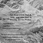 Fall River County, SD Air Photos (1938 Part B, 1939, and 1954 Part A)