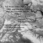 Fall River (1954 Part C and 1955) and Harding (1938 Part A) Counties, SD Air Photos