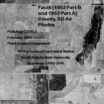 Faulk  County, SD Air Photos (1952 Part B and 1953 Part A)