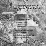 Haakon County, SD Air Photo (1938 Part B)