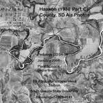 Haakon County, SD Air Photos (1938 Part C)
