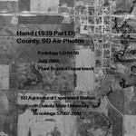Hand County, SD Air Photos (1939 Part D)
