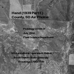 Hand County, SD Air Photos (1939 Part E)