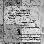Hand County, SD Air Photos (1939 Part C and 1952 – Field Notes/Soil Lines)