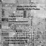 Hyde County, SD Air Photos (1939 Part A)