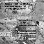 Jerauld County, SD Air Photos (1939 Field Notes and Soil Lines Part A)