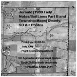 Jerauld County, SD Air Photos (1939 Field Notes/Soil Lines Part B and Township Maps)