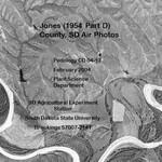Jones County, SD Air Photos (1954 Part D)