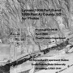 Lyman County, SD Air Photos  (1938 Part B and 1939 Part A)