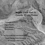 Meade County, SD Air Photos (1954 Part D)