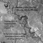 Meade County, SD Air Photos (1954 Part E)