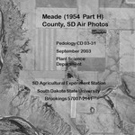 Meade County, SD Air Photos (1954 Part H)