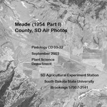 Meade County, SD Air Photos (1954 Part I)