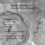 Meade County, SD Air Photos (1954 Part J)