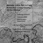 Mellette County, SD Air Photos (1954 Part A - Field Notes/Soil Lines)