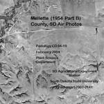 Mellette County, SD Air Photos (1954 Part B)