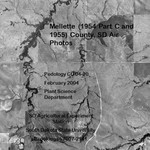 Mellette County, SD Air Photos (1954 Part C amd 1955)