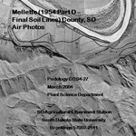 Mellette County, SD Air Photos (1954 Part D - Final Soil Lines)