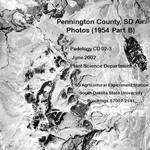 Pennington County, SD Air Photos (1954 Part B)