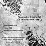 Pennington County, SD Air Photos (1954 Part C)