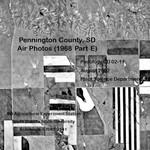 Pennington County, SD Air Photos (1968 Part E)