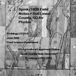 Spink County, SD Air Photos (1939 Field Notes + Soil Lines)