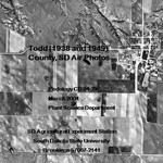 Todd County, SD Air Photos (1938 and 1949)