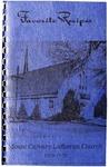 Favorite Recipes, Mount Calvary Lutheran Church, 1928-1978