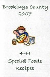 Brookings County 4-H Special Foods Recipes
