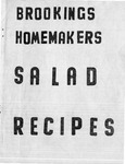 Brookings Homemakers Salad Recipes by Brookings County Extension Homemakers