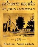 Favorite Recipes, St. John Lutheran, Madison, South Dakota