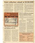 South Dakota Memorial Art Center News, Winter 1972