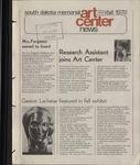 South Dakota Memorial Art Center News, Fall 1972