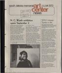 South Dakota Memorial Art Center News, Fall 1973