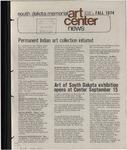 South Dakota Memorial Art Center News, Fall 1974