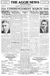 The Aggie News, March 1931 by South Dakota State College