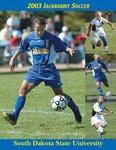 2003 Jackrabbit Soccer by South Dakota State University