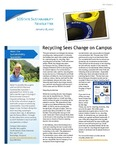 SDState Sustainability Newsletter: Vol. 1 Issue 1 by Jennifer McLaughlin
