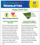 SDState Sustainability Newsletter: Vol 3. Issue 5 by Jennifer McLaughlin