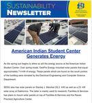 SDState Sustainability Newsletter: Vol. 4 Issue 2 by Jennifer McLaughlin, Tanner Aiken, and Jonathan Meendering