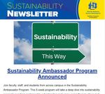 SDState Sustainability Newsletter Vol. 5 Issue 1 by Jennifer McLaughlin
