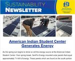 SDState Sustainability Newsletter Vol. 4 Issue 2 by Jennifer McLaughlin