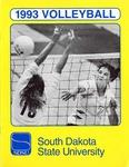 1993 Volleyball by South Dakota State University