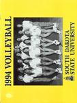 1994 Volleyball South Dakota State University by South Dakota State University