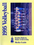 1995 Volleyball Media Guide by South Dakota State University